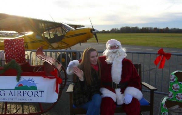 See Santa Fly-In On Verizon FIOS1 News