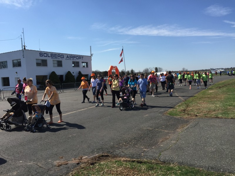 MS Walk At Solberg Airport — April 2015