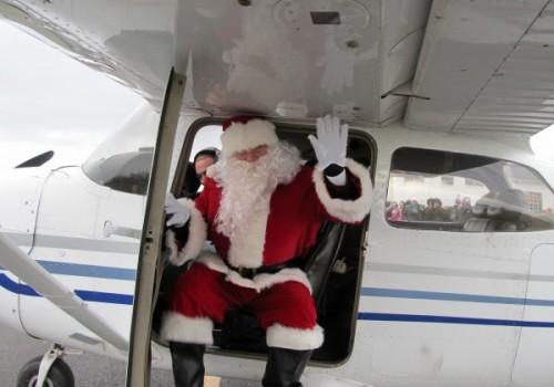 Santa Visits Solberg Airport– ((2020 Event Postponed To 2021))