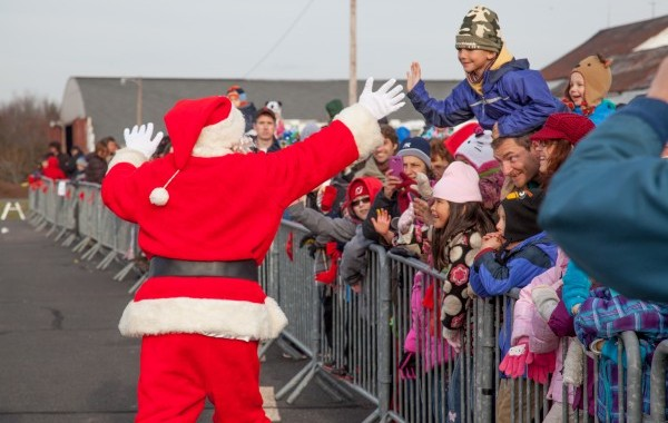 Santa Visits Solberg Airport — Saturday, November 29, 2014