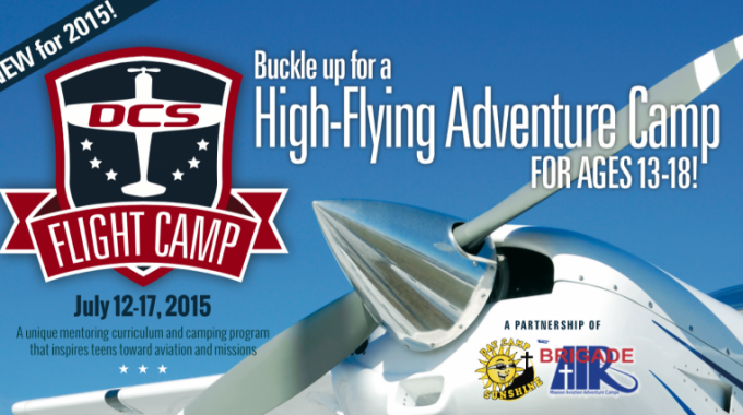 DCS And Brigade Air High-Flying Adventure Camp At Solberg Airport